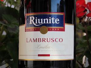 riunite wine
