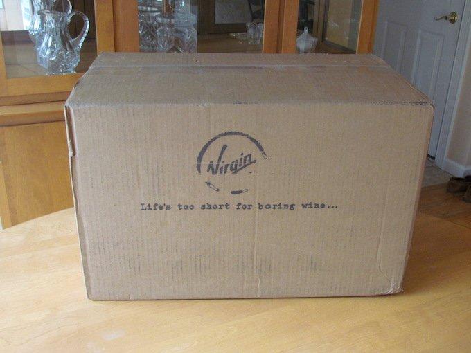 Virgin Wines Review Box